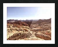 Canyon  Picture Frame print