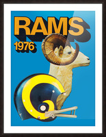 1976 Rams Picture Frame print