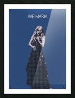 Ave Maria   Jackie Evancho Picture Frame print