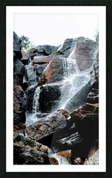 Zealand Falls NH Picture Frame print