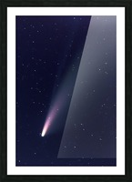 Neowise Comet 2020 Picture Frame print