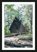 Chapel in the Woods Picture Frame print