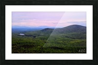 Spruce Mountain Picture Frame print