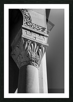A Column for Lily Picture Frame print