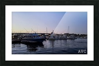 Small Harbor Picture Frame print
