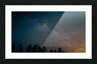 Goodnight Forest Picture Frame print