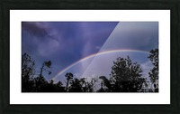 Double Rainbow Connection Picture Frame print