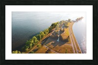 West River Shore Picture Frame print