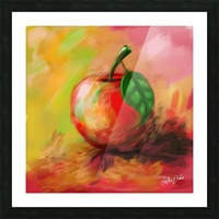 Apple Picture Frame print