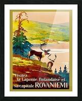 Rovaniemi Picture Frame print