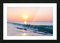 Smooth Wave  Picture Frame print