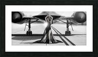 Area 71 Dark Diva Picture Frame print