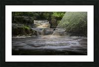Rushing water at Horseshoe falls Picture Frame print