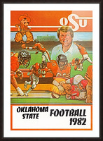 1982 oklahoma state cowboys football Picture Frame print