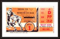 1956 Louisiana Tech vs. Northwestern State Picture Frame print