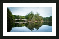 Beautiful Arch Bridge Picture Frame print