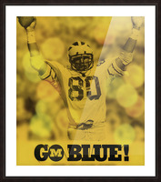 1979 michigan football go blue Picture Frame print