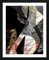 J A Z Z Picture Frame print