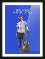 Song To Sing When Im Lonely   John Frusciante Picture Frame print