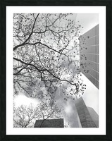 NYC Placement Picture Frame print