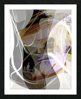 A M U Picture Frame print