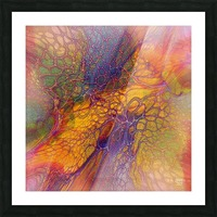 artabstract mix10 Picture Frame print