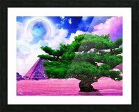 The Sublimate Tree Picture Frame print
