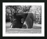 Two Large Forms at Grange Park 1 Picture Frame print