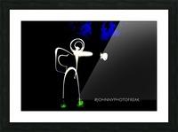 Stickman light comfort Picture Frame print