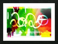 INKED 2020  Picture Frame print