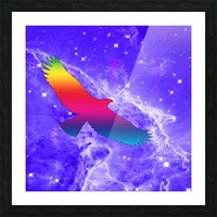Eagle Star Picture Frame print