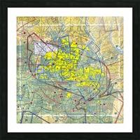 Phoenix AZ Aeronautical Wall Art Picture Frame print