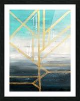 Art deco geometric II Picture Frame print