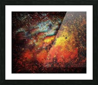 Untitled Abstract  Picture Frame print