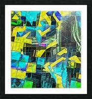 Hyperkaleidoscopically Picture Frame print
