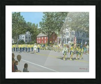 Labor Day Parade - Newtown Series 14X18 Picture Frame print