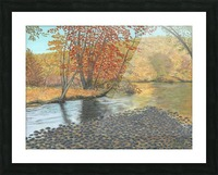 Two Rivers - Newtown Series 18X24 Picture Frame print