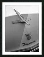 Fairlane in the Shade Picture Frame print