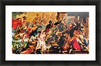 Medici s and the Apotheosis of Henry IV by Rubens Picture Frame print