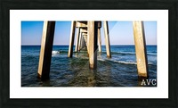 Good Morning Pier Picture Frame print