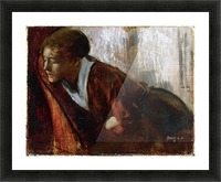 Melancholy by Degas Picture Frame print