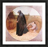 Misanthrope by Pieter Bruegel Picture Frame print