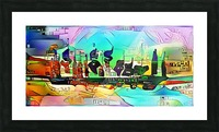 city5 ship Picture Frame print