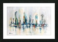 Uptown XXV Picture Frame print