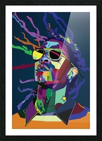 Young Thug Rapper Wpap Pop Art Picture Frame print