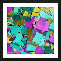 abstract flow art Picture Frame print