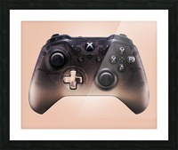 Gaming Controller v3 Picture Frame print