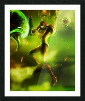Samus Aran Super Metroid Picture Frame print