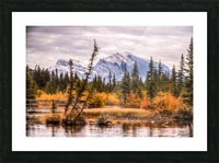 Policemans Creek and Grotto Mtn IMG_3003_4_5 PS_ Picture Frame print