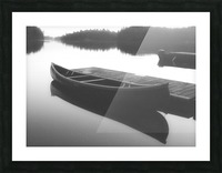 Tranquility BW Picture Frame print